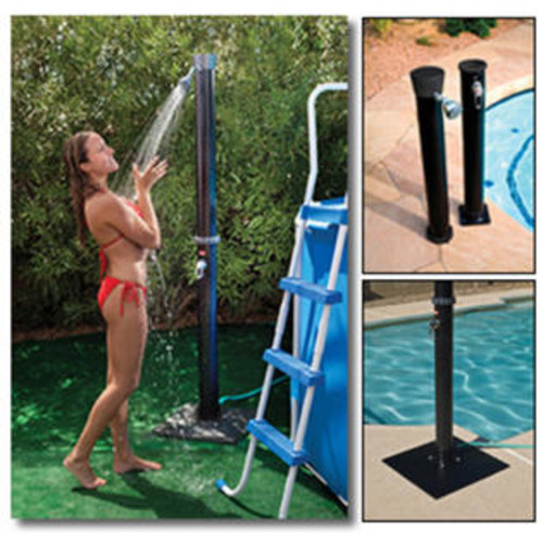 Blue Wave Outdoor Solar Shower w/ Base