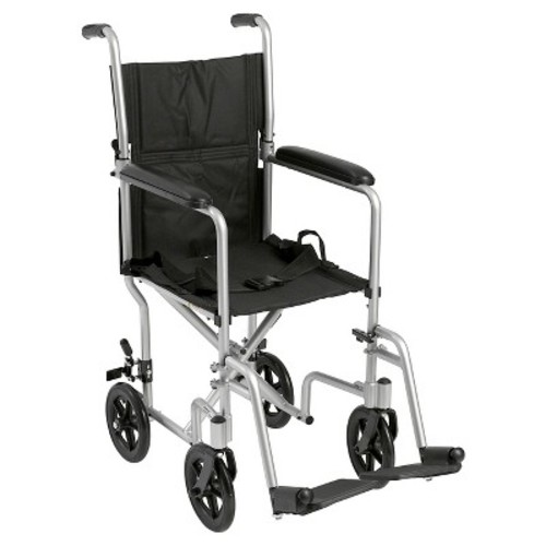 Drive Medical Lightweight Transport Wheelchair, 17