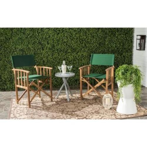 Safavieh Laguna Dark Green Folding Director's Chair (Set of 2)