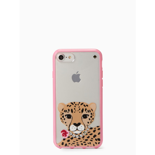 jeweled cheetah iphone 7/8 case