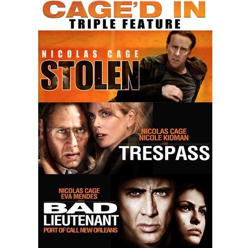 Nicolas Cage Triple Feature: Stolen/Trespass/The Bad Lieutenant [2 Discs] [DVD]