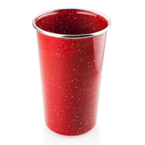 GSI Outdoors 4201 Pioneer Pint Glass, Red