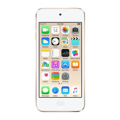 Apple New iPod touch 32GB Gold (6th Generation) with Engraving (MKHT2LL/A)