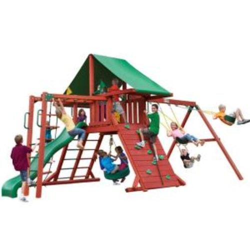 Gorilla Playsets Sun Valley II Cedar Playset