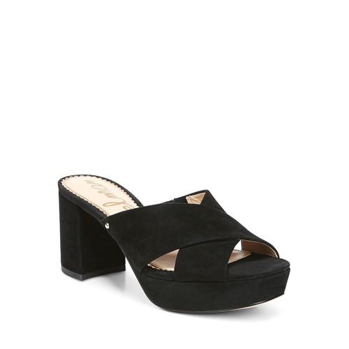 Women's Jayne Suede Platform High Heel Slide Sandals