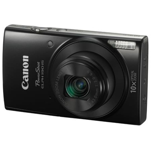 Canon PowerShot ELPH 190 Digital Camera and Free Accessories, Black 1084C001 A