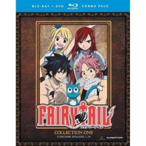 Fairy Tail: Collection One [8 Discs] [Blu-ray/DVD]