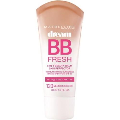 Maybelline Dream Fresh BB 8-in-1 Beauty Balm Skin Perfector SPF 30, Medium 1 oz [Medium]
