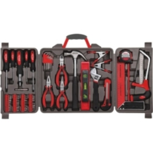 Household H& Tools, 86 Piece Tool Set With Roll-Up Bag by Stalwart, (Hammer, Wrench Set, Screwdriver Set, Pliers