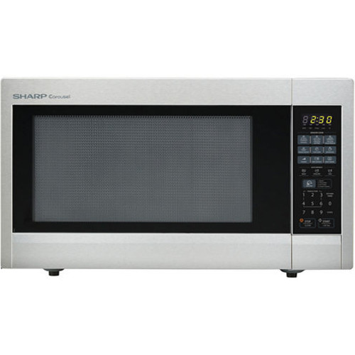 Sharp Carousel 22 Cu Ft 1200W Countertop Microwave Oven Stainless Steel JCPenney