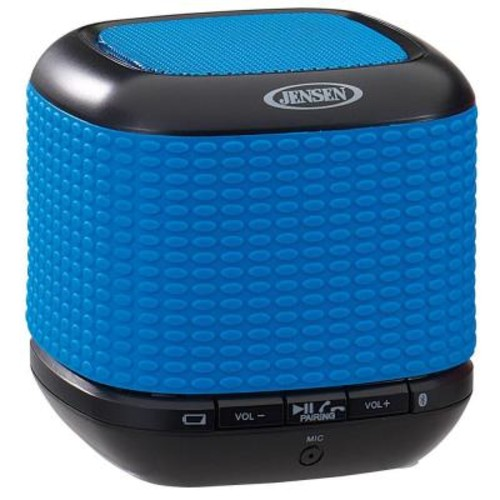 JENSEN Portable Rechargeable Bluetooth Wireless Speaker with NFC - Blue