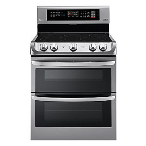 LG LDE4411ST 7.3 cu. ft. Electric Double Oven Range with ProBake Convection and EasyClean