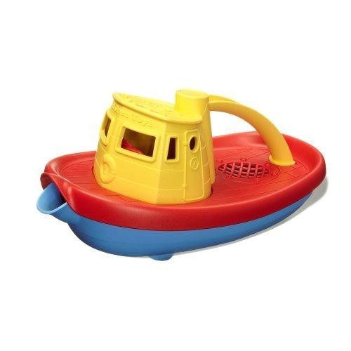 Green Toys My First Tugboat - BPA, Phthalates Free Bath Toys for Kids, Toddlers. Toys and Games [Standard Packaging]