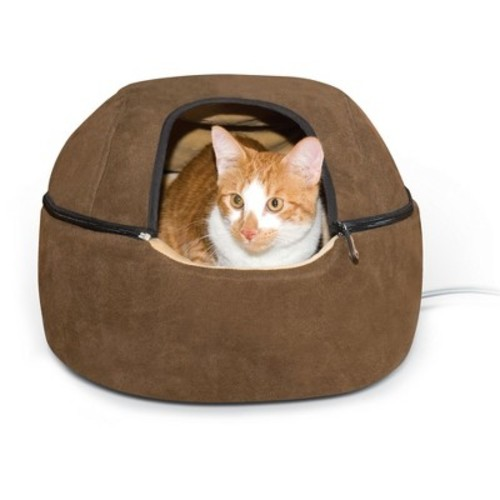 K&H Pet Products Thermo-Kitty Dome Bed