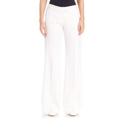 STELLA MCCARTNEY Wide-Leg Tuxedo Trousers