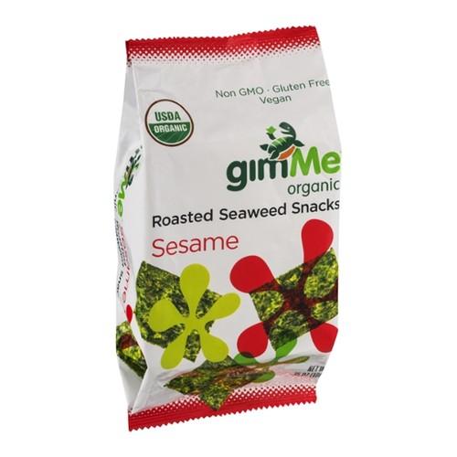 gimMe Roasted Seaweed Snacks Sesame Organic