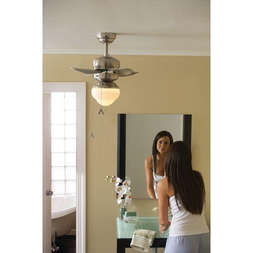 Monte Carlo 4MC20BS Mini Ceiling Fan, 20
