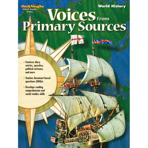Houghton Mifflin Harcourt Voices From Primary Sources Reproducible World History