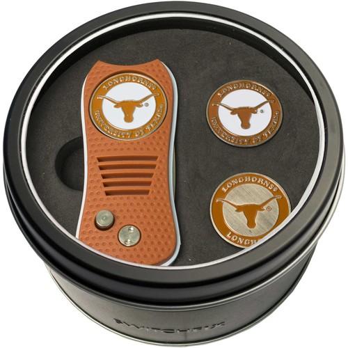 Team Golf Texas Longhorns Switchfix Divot Tool and Ball Markers Set