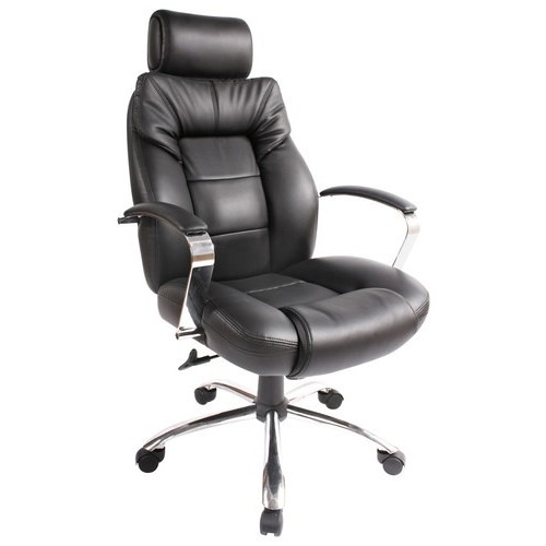 Comfort Products Commodore II Executive Big and Tall Chair - Black
