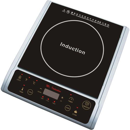 Spt 1300-Watt Induction Cooktop, Silver