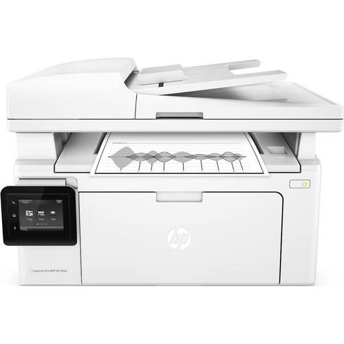 HP - Refurbished LaserJet Pro MFP M130fw Wireless Black-and-White All-In-One Printer