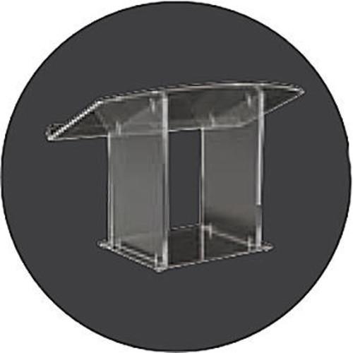Clear Acrylic Tabletop Lectern
