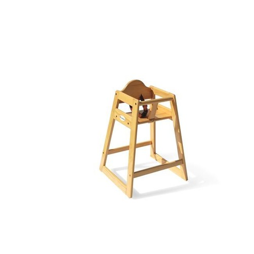 Foundations Hardwood High Chair, Natural