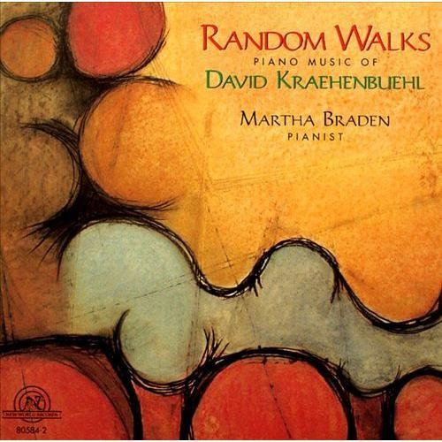 Random Walks: Piano Music of David Kraehenbuehl [CD]