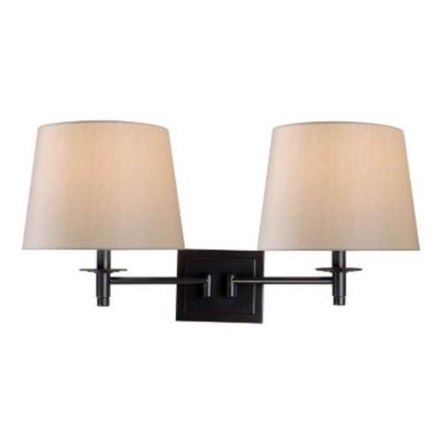 Kenroy Home 32618ORB Glenn Wall Swing Arm Lamp, Oil Rubbed Bronze Finish, Oil Rubbed Bronze Finish