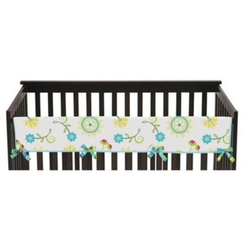 Sweet Jojo Designs Layla Long Crib Rail Crib Guard Cover