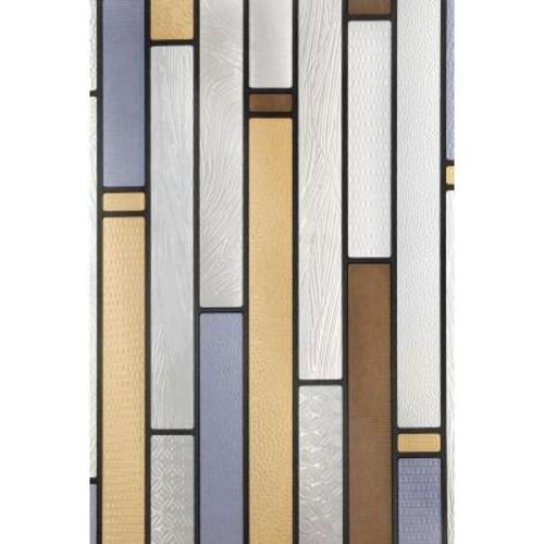 Artscape 12 in. x 83 in. Modera Sidelight Decorative Window Film