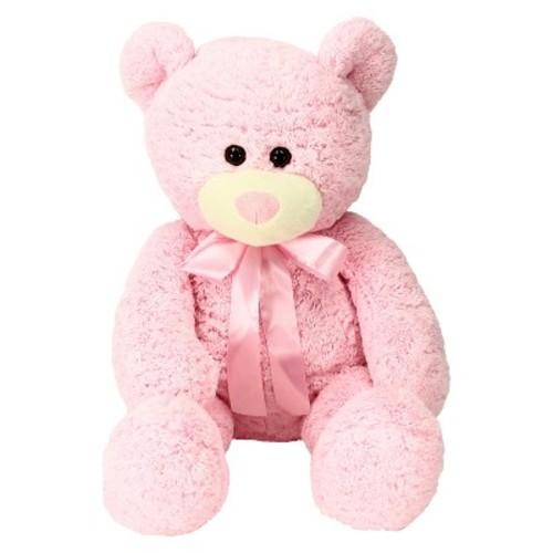 Sweet Sprouts Plush Avis Bear - Pink