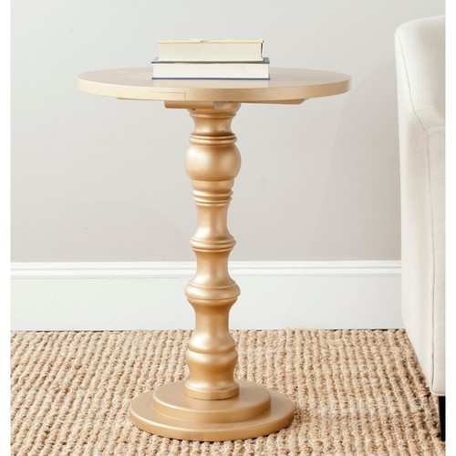 Safavieh Coffee, Console, Sofa & End Tables Safavieh Greta Gold Accent Table