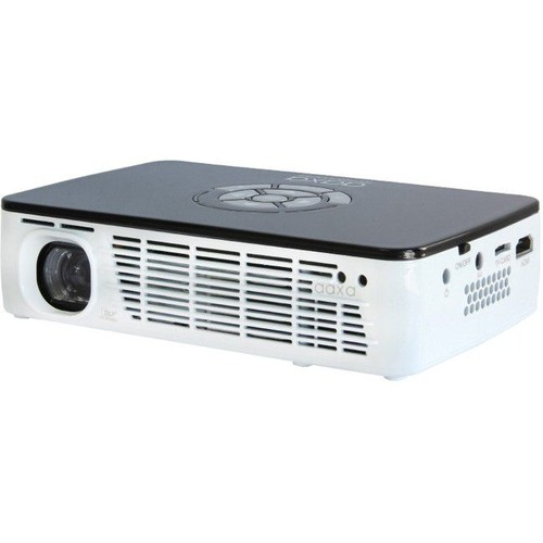 AAXA Technologies P300 Pico Pocket Projector 500 Lumens HDMI USB Media Player WXGA - LED - 20,000 Hour LED - 1280 x 800 WXGA - 2,000:1 - 500 lm - HDMI - USB - VGA In - microSD - 25W