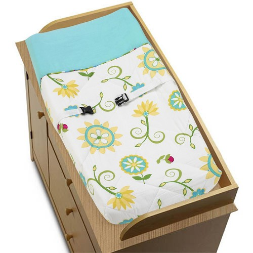 Sweet Jojo Designs Layla Collection Changing Pad Cover