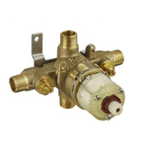 American Standard 1/2 in. Pressure Balance Rough Valve with Universal Inlets and Outlets with Screwdriver Stops