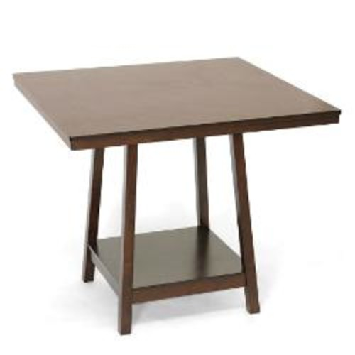 Baxton Studio Kelsey Counter Table, Brown
