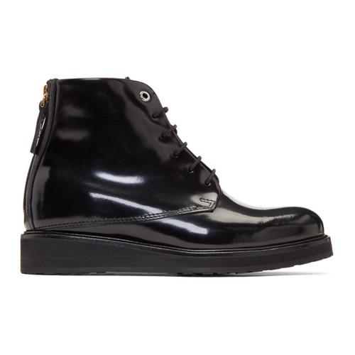 Black Patent Menara Boots