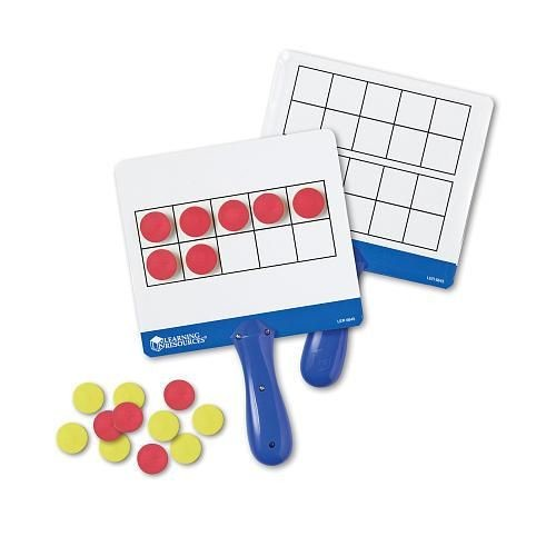 Learning Resources Magnetic Ten Frame Answer Board Set