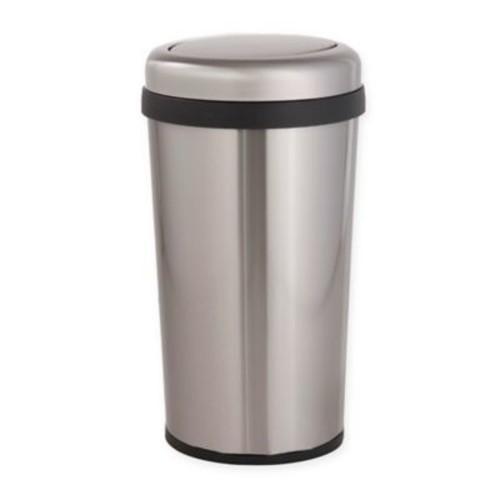 Testrite Tapered Swing-Top 45-Liter Trash Bin