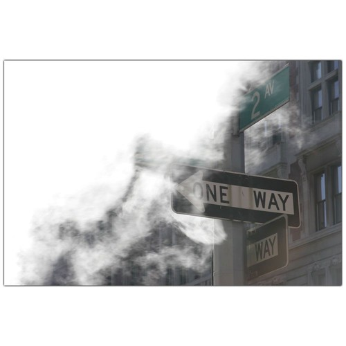 Trademark Global Yale Gurney 'One Way' Canvas Art [Overall Dimensions : 18x24]