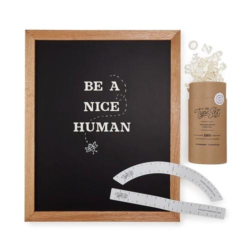 Magnetic Letter Board Kit [Magnetic Board]