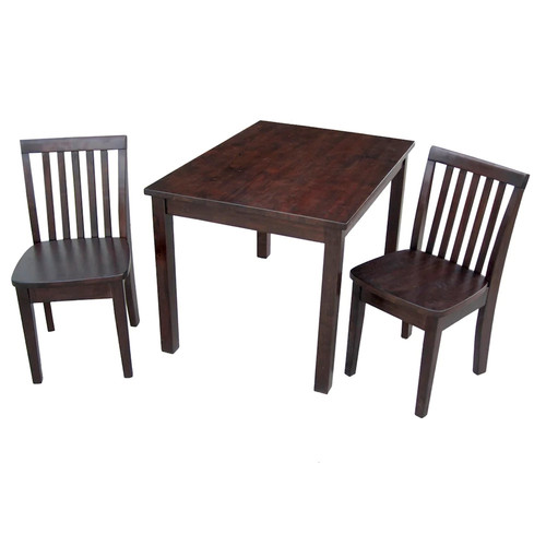 3-pc. Juvenile Table & Chairs Set