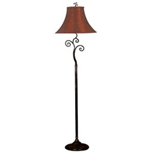 Kenroy Home Richardson Floor Lamp [Red]