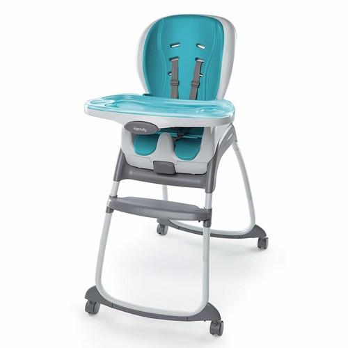 Ingenuity SmartClean Trio 3-in-1 High Chair, Aqua [Aqua]