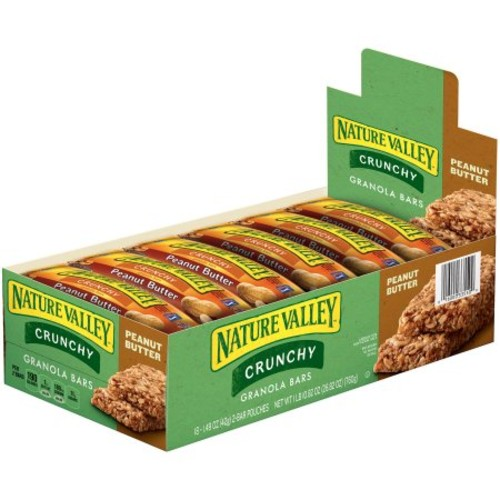 Nature Valley Granola Bar Peanut Butter, 1.50-Ounces (Pack of 18)