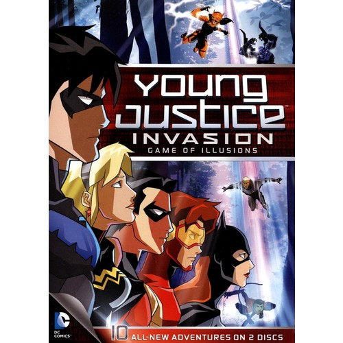 Young Justice: Invasion - Game of Illusions [2 Discs] [DVD]