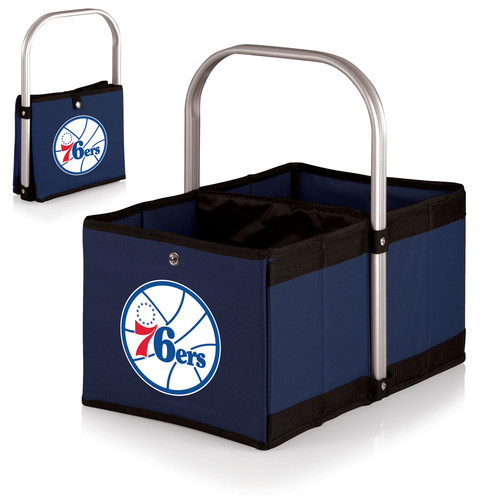 Picnic Time Urban Basket - Philadelphia 76ers - Navy/Slate