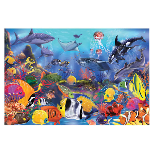 Melissa & Doug Underwater Floor Puzzle